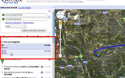 http://maps.google.it/maps?f=d&source=s_d&saddr=Corso+Italia%2FSS526&daddr=Cinisello+Balsamo&hl=it&geocode=FYe8tQId1UaHAA%3B&mra=pr&sll=45.510505,9.045965&sspn=0.213164,0.63446&ie=UTF8&t=h&z=11