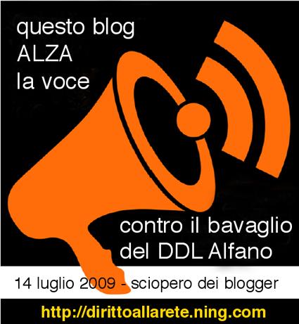 Scioero contro DDL Alfano